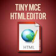 Tiny MCE Html Editor